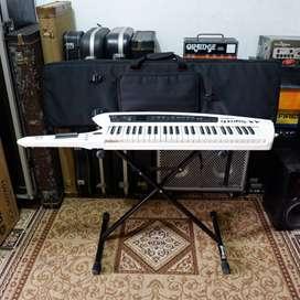 BILLY MUSIK - Keytar Synthesizer Roland AX Synth SuperNATURAL gigbag
