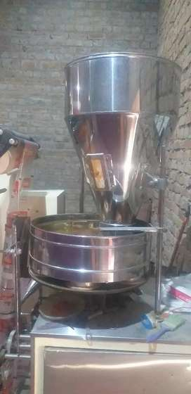 Paking machine with ss material.