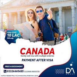 Canada Family Visit Visa with multiple entry