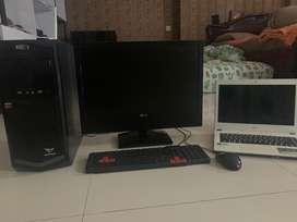Paket komplit komputer free Laptop Acer