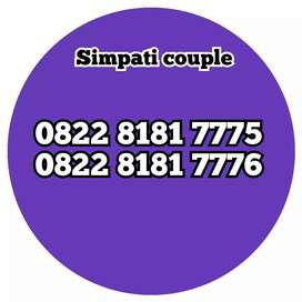 Nomor cantik simpati couple