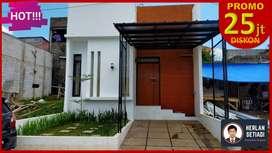 Rumah Unik Cluster Dsain Kotak dktPolban Ciwaruga CIhanjuang Setiabudi