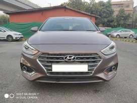 Hyundai Verna Fluidic 1.6 VTVT SX Opt Automatic, 2017, Petrol