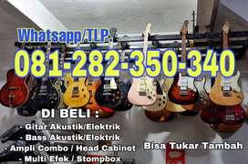 DI BELI Gitar dan Bass - Efek - Ampli - Langsung Bayar di Tempat