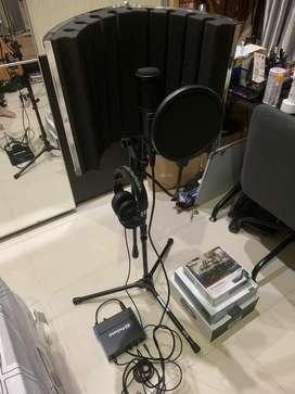 Set Alat Recording Profesional Presonus, Audio Technica