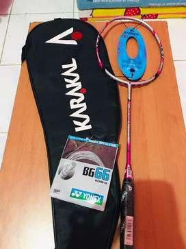 Raket badminton karakal pure power 9 original UK