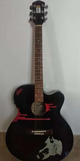 Acoustic musical Guitar