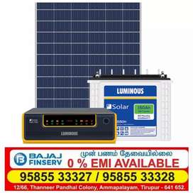 Ups, Battery and solar