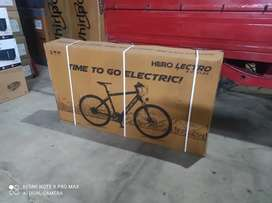 Hero electric cylce C-8 brand new for immediate sale