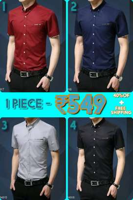 Modern shirts + Free delivery