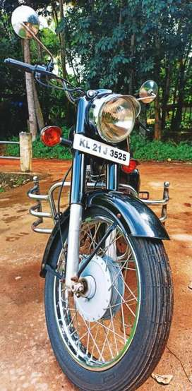 Old classic model bullet well maintained and good .