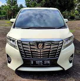 Toyota Alphard G Atpm 2016 AT Oddo 15 rb