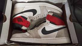 Nike Air Jordan 1 Smoke Grey size 42