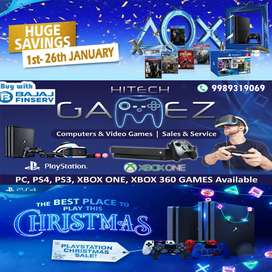 Playstation PS4 XBOX New Year & Festival Offers@Hitech Gamez wholesale