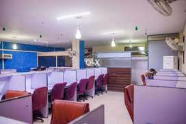 Furnished Office Space for new startup and call center, lahore