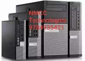 anded used hp/ DELL / acer/Lenovo  Cor i3 4gen full set desktop 4gb