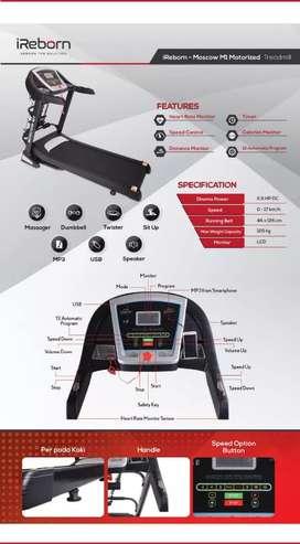 big treadmill elektrik moscow ireborn K-080 manual incline