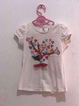 baju anak baby popeye 3 pcs 50k
