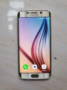 Samsung S6 edge gold likenew internal 64gb
