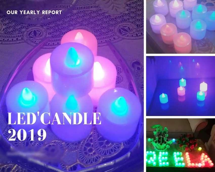 Lilin LED Bandung 0