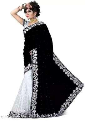 Women's velvet sarees