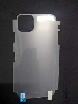 Iphone 12pro Back Jelly Protector