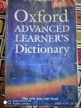 Oxford Advanced Learner's Dictionary at Tip Top condition
