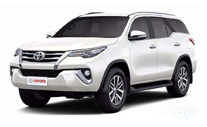 this is new car toyata fortuner at minimum down payment 0