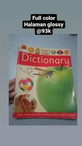 Buku Anak Kamus full color Dictionary