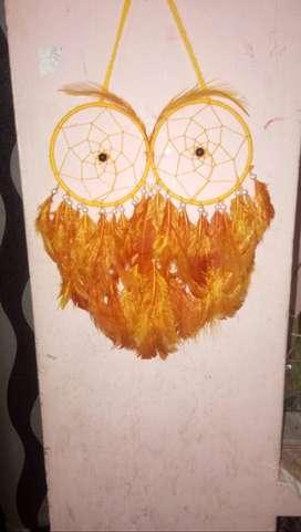 Owl model dream catcher