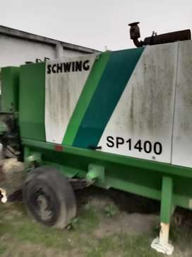 Schwing stetter concrete pump Sp 1400 on rent