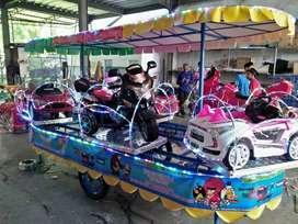 kereta panggung mobil motor gede Odong odong tayo full fiber NP