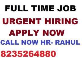 Full time job Store Keeper Helper Supervisor Urgent hiring  boys and g