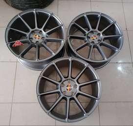 dijual pelek bekas droft ring19x85/95 pcd5x112 grey