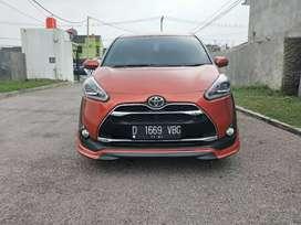 Toyota Sienta Q matic mls siap pke km31rb DP.18jt sja