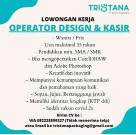Operator Design & Kasir