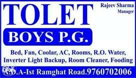 Rajeev boys pg hostel at kishanpur tiraha