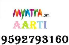 Myntra Company Full time job apply in helper,store keeper,supervisor