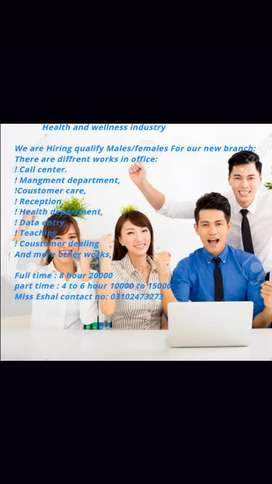 Healthy and wellness industry