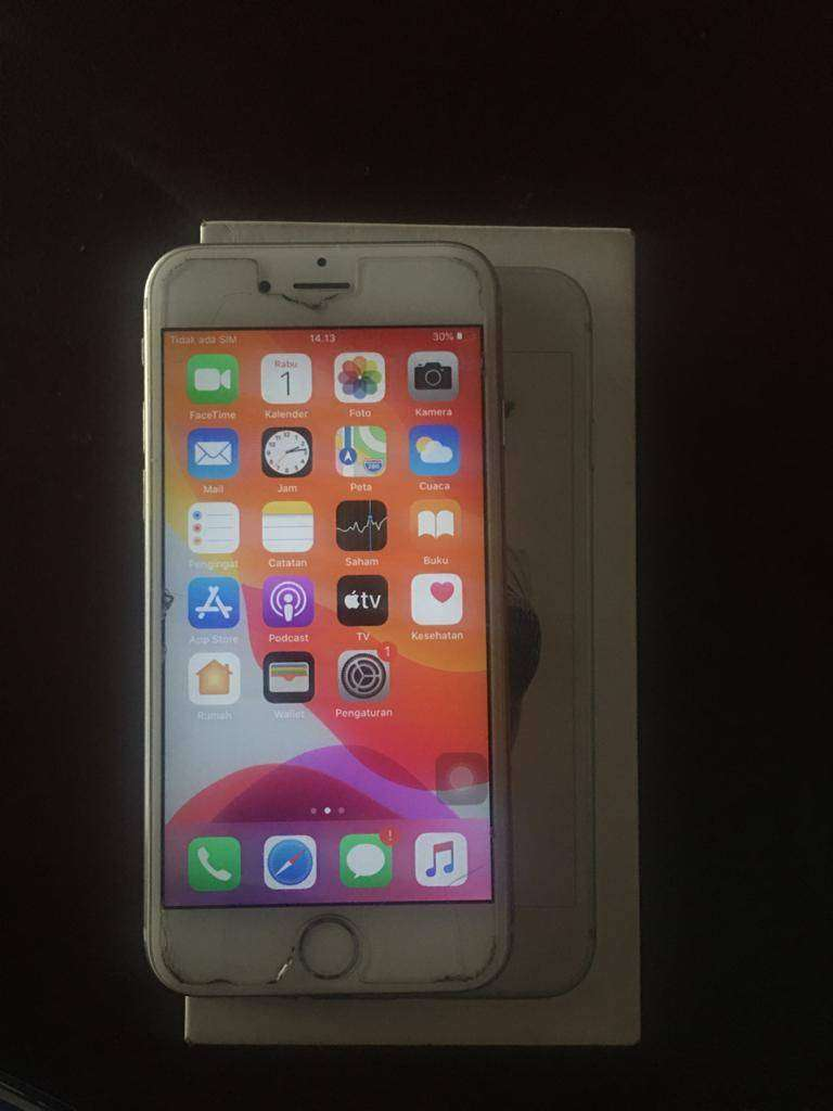 Iphone 6s silver 128gb 0
