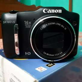 (Semi DSLR) CANON PowerShot SX160 IS Digital Camera (New Conditions)