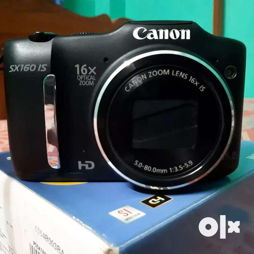 (Semi DSLR) CANON PowerShot SX160 IS Digital Camera (New Conditions) 0