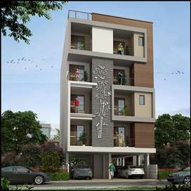 Near main iskon road 3 bhk big flates in very attractive price
