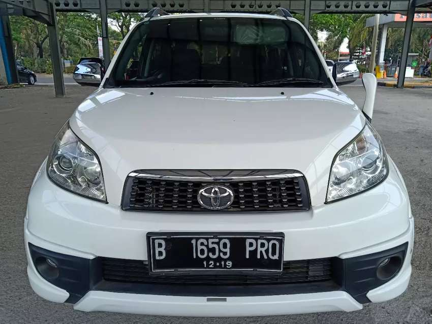 Toyota Rush S Trd 2014 AT 0
