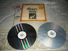 """Laser Disc """"Beauty and the Beast"""""""