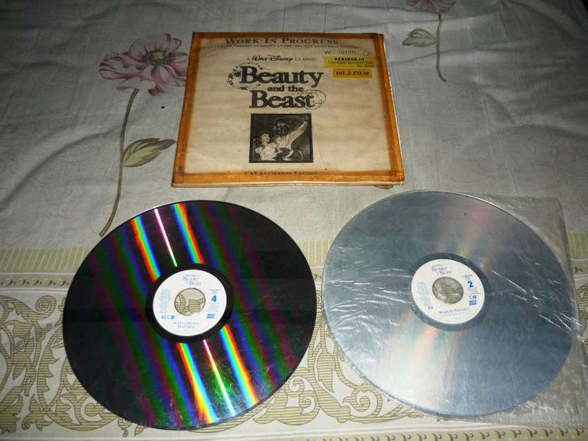 "Laser Disc ""Beauty and the Beast"" 0"