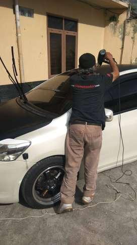 kaca film cutting stiker salon mobil bandung BISA PANGGILAN