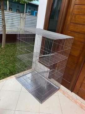 Silakan Kakk Kandang Kucing Nyaa baru