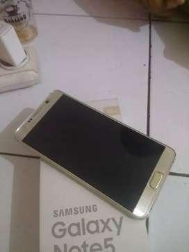 Samsung note 5 ram 4/32 ex sein mulus lengkap