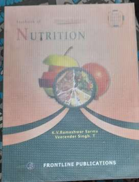 Nutrition (text book)for General Nursing Students